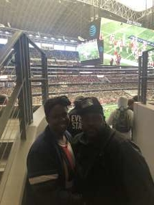 Adriana attended Big 12 Championship: Oklahoma Sooners vs. Baylor Bears - NCAA Football on Dec 7th 2019 via VetTix