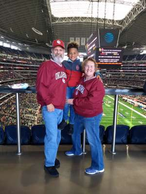 David attended Big 12 Championship: Oklahoma Sooners vs. Baylor Bears - NCAA Football on Dec 7th 2019 via VetTix