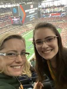 Christine attended Big 12 Championship: Oklahoma Sooners vs. Baylor Bears - NCAA Football on Dec 7th 2019 via VetTix