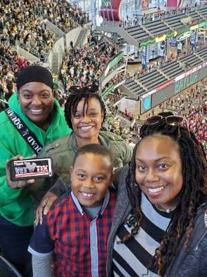Cathy attended Big 12 Championship: Oklahoma Sooners vs. Baylor Bears - NCAA Football on Dec 7th 2019 via VetTix