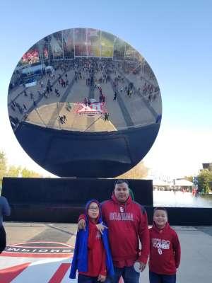 Joshua attended Big 12 Championship: Oklahoma Sooners vs. Baylor Bears - NCAA Football on Dec 7th 2019 via VetTix