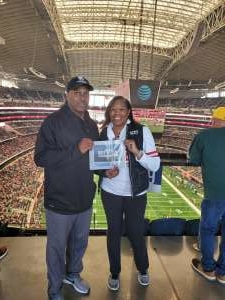Camille attended Big 12 Championship: Oklahoma Sooners vs. Baylor Bears - NCAA Football on Dec 7th 2019 via VetTix