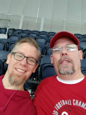 Nathan attended Big 12 Championship: Oklahoma Sooners vs. Baylor Bears - NCAA Football on Dec 7th 2019 via VetTix