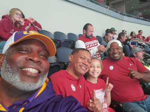 Jermare attended Big 12 Championship: Oklahoma Sooners vs. Baylor Bears - NCAA Football on Dec 7th 2019 via VetTix