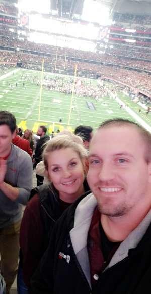 Joshua attended Big 12 Championship: Oklahoma Sooners vs. Baylor Bears - NCAA Football on Dec 7th 2019 via VetTix