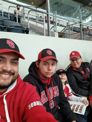 Jaime attended Big 12 Championship: Oklahoma Sooners vs. Baylor Bears - NCAA Football on Dec 7th 2019 via VetTix