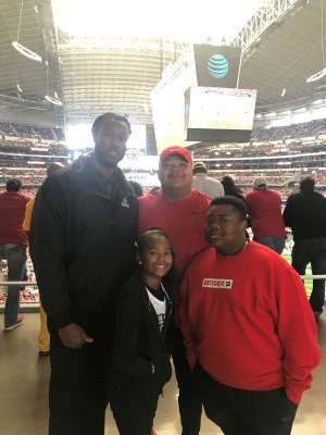Eric attended Big 12 Championship: Oklahoma Sooners vs. Baylor Bears - NCAA Football on Dec 7th 2019 via VetTix