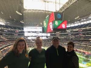 Steve attended Big 12 Championship: Oklahoma Sooners vs. Baylor Bears - NCAA Football on Dec 7th 2019 via VetTix