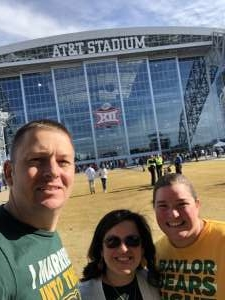 Bryan attended Big 12 Championship: Oklahoma Sooners vs. Baylor Bears - NCAA Football on Dec 7th 2019 via VetTix