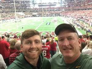 Paul attended Big 12 Championship: Oklahoma Sooners vs. Baylor Bears - NCAA Football on Dec 7th 2019 via VetTix