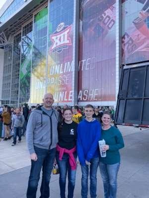 Anthony attended Big 12 Championship: Oklahoma Sooners vs. Baylor Bears - NCAA Football on Dec 7th 2019 via VetTix