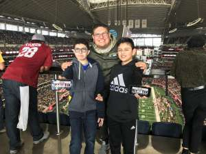 Edwardo attended Big 12 Championship: Oklahoma Sooners vs. Baylor Bears - NCAA Football on Dec 7th 2019 via VetTix