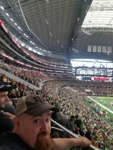 Andrew attended Big 12 Championship: Oklahoma Sooners vs. Baylor Bears - NCAA Football on Dec 7th 2019 via VetTix