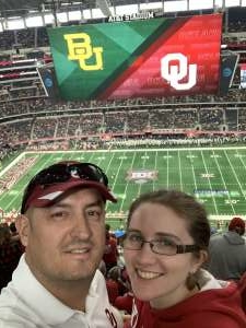 Jason attended Big 12 Championship: Oklahoma Sooners vs. Baylor Bears - NCAA Football on Dec 7th 2019 via VetTix