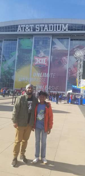 Tremayne attended Big 12 Championship: Oklahoma Sooners vs. Baylor Bears - NCAA Football on Dec 7th 2019 via VetTix