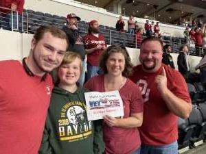 Richard attended Big 12 Championship: Oklahoma Sooners vs. Baylor Bears - NCAA Football on Dec 7th 2019 via VetTix