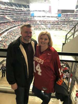 COURTLY attended Big 12 Championship: Oklahoma Sooners vs. Baylor Bears - NCAA Football on Dec 7th 2019 via VetTix