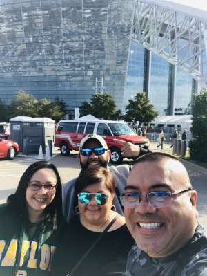 Felipe attended Big 12 Championship: Oklahoma Sooners vs. Baylor Bears - NCAA Football on Dec 7th 2019 via VetTix