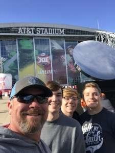 Bruce attended Big 12 Championship: Oklahoma Sooners vs. Baylor Bears - NCAA Football on Dec 7th 2019 via VetTix