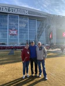 Jack attended Big 12 Championship: Oklahoma Sooners vs. Baylor Bears - NCAA Football on Dec 7th 2019 via VetTix