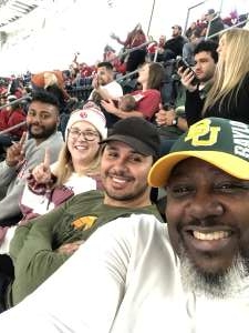 Darryl attended Big 12 Championship: Oklahoma Sooners vs. Baylor Bears - NCAA Football on Dec 7th 2019 via VetTix