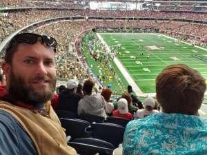 Robert attended Big 12 Championship: Oklahoma Sooners vs. Baylor Bears - NCAA Football on Dec 7th 2019 via VetTix