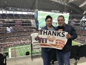 Jose Juan attended Big 12 Championship: Oklahoma Sooners vs. Baylor Bears - NCAA Football on Dec 7th 2019 via VetTix