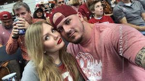 Jasmine attended Big 12 Championship: Oklahoma Sooners vs. Baylor Bears - NCAA Football on Dec 7th 2019 via VetTix