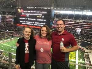 Zach attended Big 12 Championship: Oklahoma Sooners vs. Baylor Bears - NCAA Football on Dec 7th 2019 via VetTix