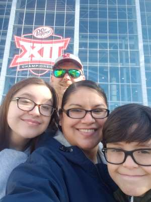America attended Big 12 Championship: Oklahoma Sooners vs. Baylor Bears - NCAA Football on Dec 7th 2019 via VetTix