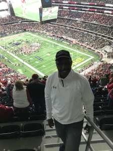 KENNARD attended Big 12 Championship: Oklahoma Sooners vs. Baylor Bears - NCAA Football on Dec 7th 2019 via VetTix
