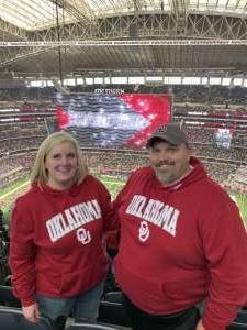 Mark attended Big 12 Championship: Oklahoma Sooners vs. Baylor Bears - NCAA Football on Dec 7th 2019 via VetTix