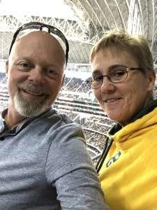 Holly attended Big 12 Championship: Oklahoma Sooners vs. Baylor Bears - NCAA Football on Dec 7th 2019 via VetTix