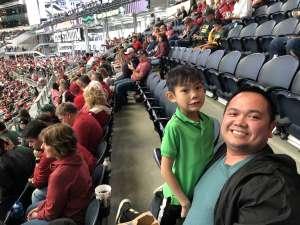 Nam attended Big 12 Championship: Oklahoma Sooners vs. Baylor Bears - NCAA Football on Dec 7th 2019 via VetTix