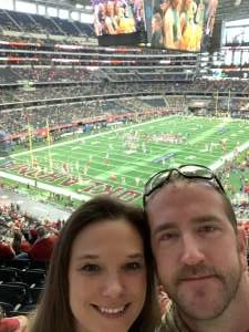 john attended Big 12 Championship: Oklahoma Sooners vs. Baylor Bears - NCAA Football on Dec 7th 2019 via VetTix