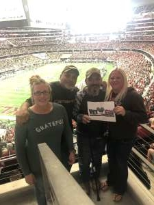 Joaquin attended Big 12 Championship: Oklahoma Sooners vs. Baylor Bears - NCAA Football on Dec 7th 2019 via VetTix
