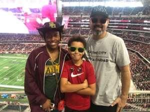 Yolanda attended Big 12 Championship: Oklahoma Sooners vs. Baylor Bears - NCAA Football on Dec 7th 2019 via VetTix