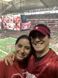 Costas attended Big 12 Championship: Oklahoma Sooners vs. Baylor Bears - NCAA Football on Dec 7th 2019 via VetTix