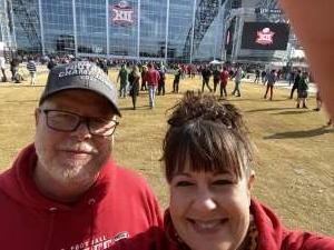 Jeffrey attended Big 12 Championship: Oklahoma Sooners vs. Baylor Bears - NCAA Football on Dec 7th 2019 via VetTix