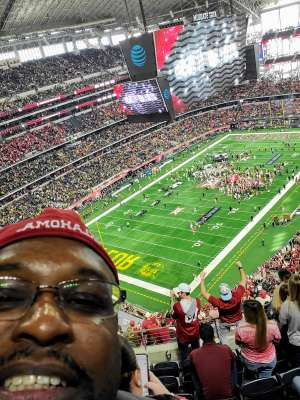 John attended Big 12 Championship: Oklahoma Sooners vs. Baylor Bears - NCAA Football on Dec 7th 2019 via VetTix
