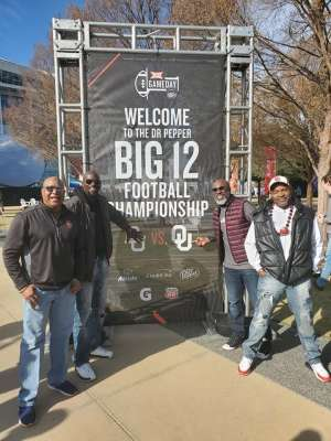Clarence  attended Big 12 Championship: Oklahoma Sooners vs. Baylor Bears - NCAA Football on Dec 7th 2019 via VetTix