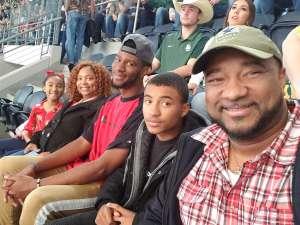 Frank attended Big 12 Championship: Oklahoma Sooners vs. Baylor Bears - NCAA Football on Dec 7th 2019 via VetTix