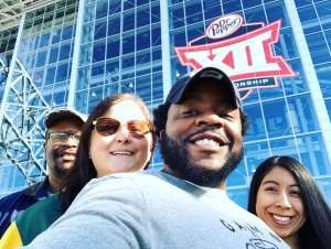 Jay attended Big 12 Championship: Oklahoma Sooners vs. Baylor Bears - NCAA Football on Dec 7th 2019 via VetTix