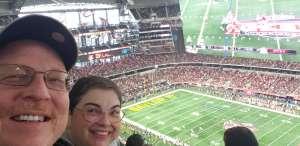 Lance attended Big 12 Championship: Oklahoma Sooners vs. Baylor Bears - NCAA Football on Dec 7th 2019 via VetTix