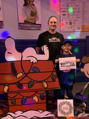 Adam attended Merry Christmas Mouse on Dec 7th 2019 via VetTix
