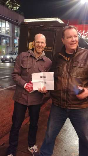 Marcus attended A Tribute to the Beatles' White Album on Dec 5th 2019 via VetTix