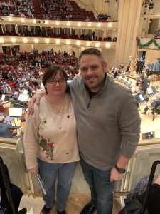 Paul attended Higdon and Tchaikovsky 4 - Presented by the Chicago Symphony Orchestra on Dec 7th 2019 via VetTix