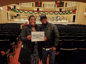 US Army - Retired attended Higdon and Tchaikovsky 4 - Presented by the Chicago Symphony Orchestra on Dec 7th 2019 via VetTix