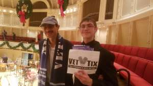 Christopher attended Higdon and Tchaikovsky 4 - Presented by the Chicago Symphony Orchestra on Dec 7th 2019 via VetTix