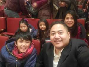 Jalandoni Family attended Higdon and Tchaikovsky 4 - Presented by the Chicago Symphony Orchestra on Dec 7th 2019 via VetTix